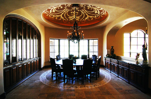 Venetian Plaster Ceiling